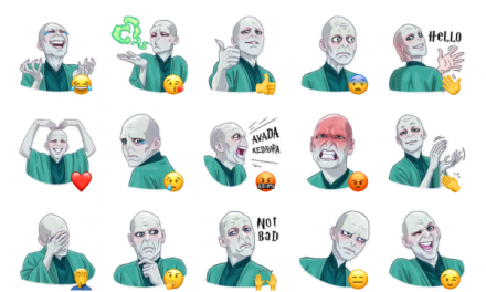 Lord Voldemort Sticker Pack