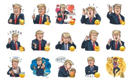 Mr. Trump Sticker Pack