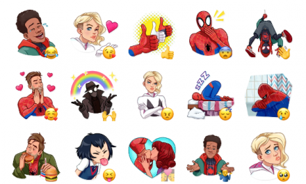 Into the Spider-Verse Sticker Pack