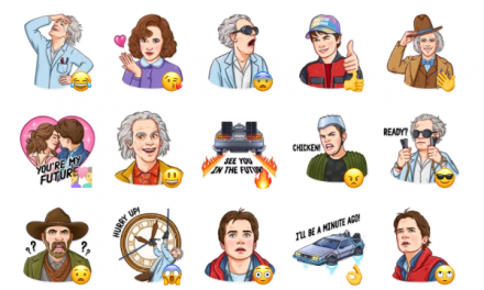 Back to the Future Sticker Pack