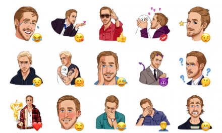 Ryan Gosling Sticker Pack