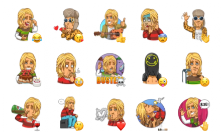 Kurt Cobain Sticker Pack