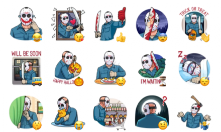 Jason Voorhees Sticker Pack