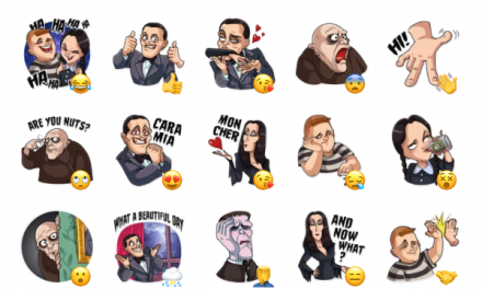 The Addams Family Sticker Pack
