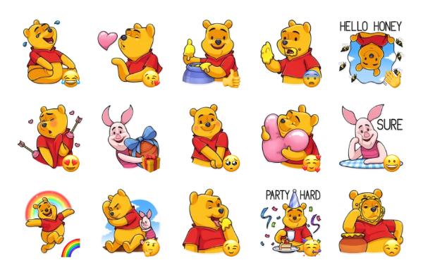 Winnie the Pooh Sticker Pack