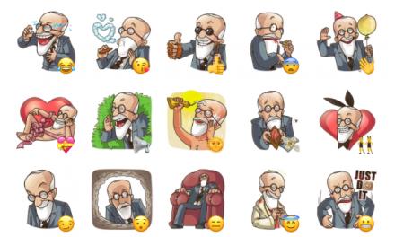 Sigmund Freud Sticker Pack