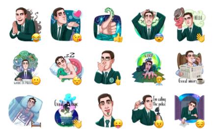 H. P. Lovecraft Sticker Pack