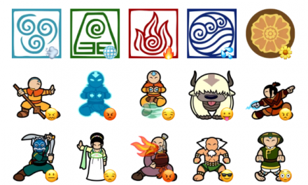 The Last AirBender Sticker Pack