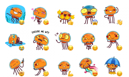 Bob the Jellyfish Sticker Pack