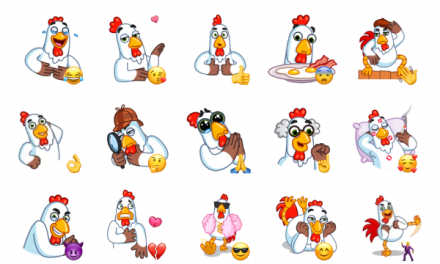 Cock Around the Clock Sticker Pack