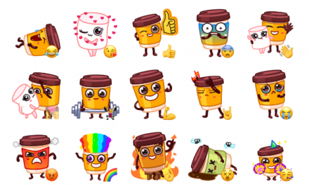 Cup Puchino Sticker Pack