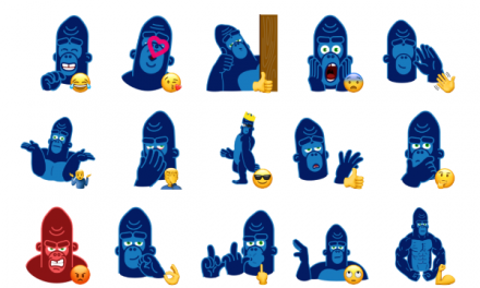 Harry Gorilla Sticker Pack