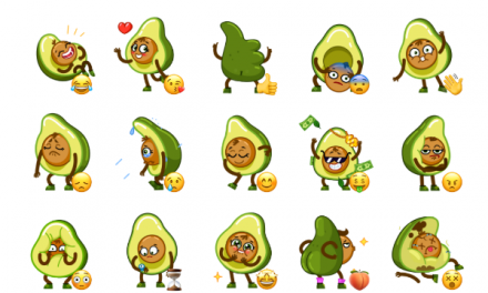 Holy Guacamole Sticker Pack
