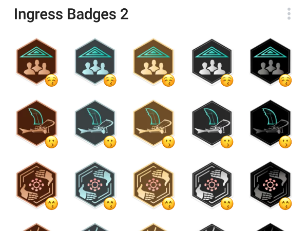 Ingress badges