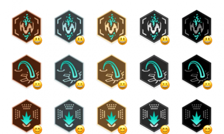 Ingress Badge sticker set