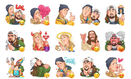 Jay and Silent Bob Sticker Pack