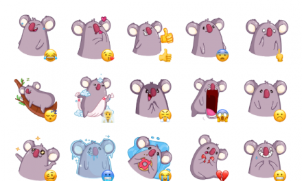 La Koala Sticker Pack