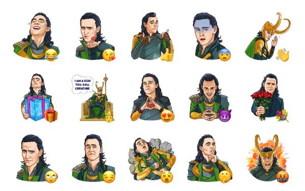Loki Sticker Pack