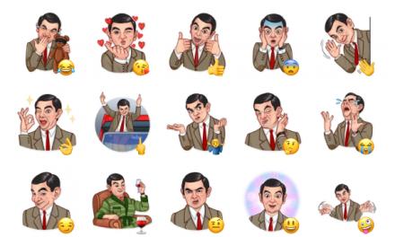 Mr. Bean Sticker Pack