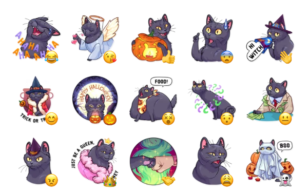 Salem Sticker Pack