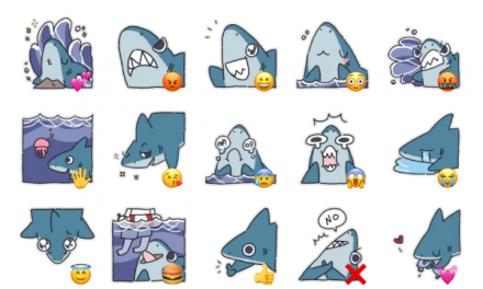 Shark Sticker Pack