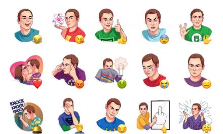 Sheldon Sticker Pack