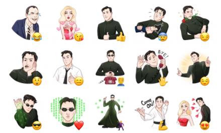 The Matrix Sticker Pack