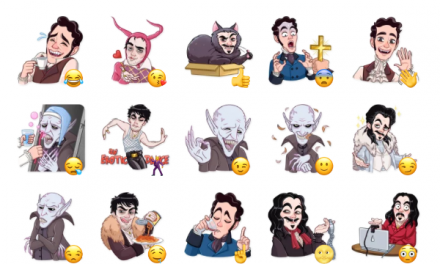 What We Do in the Shadows Sticker Pack
