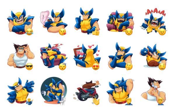 Wolverine Sticker Pack