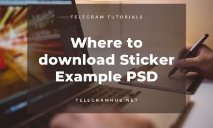 Download Stickers Example psd to create Telegram Stickers