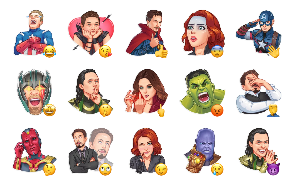 Avengers Sticker Pack