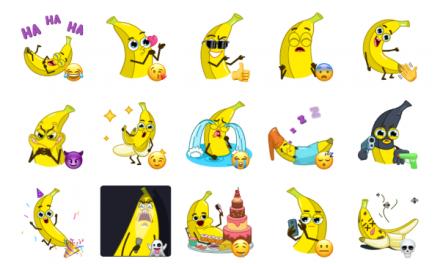 Banana Fun Sticker Pack