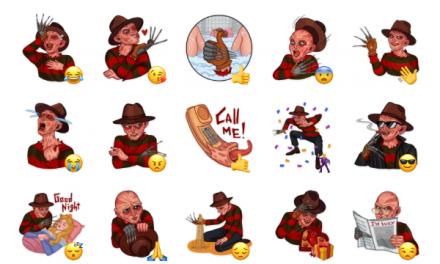 Freddy Krueger Sticker Pack