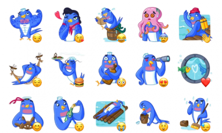 Hello,Sailor Sticker Pack