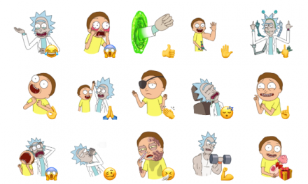 Rick and Morty Sticker Pack