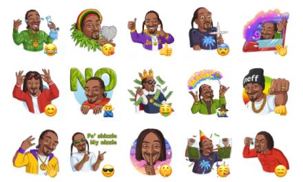 Snoop Dogg Sticker Pack