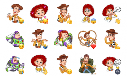 Toy Story Sticker Pack