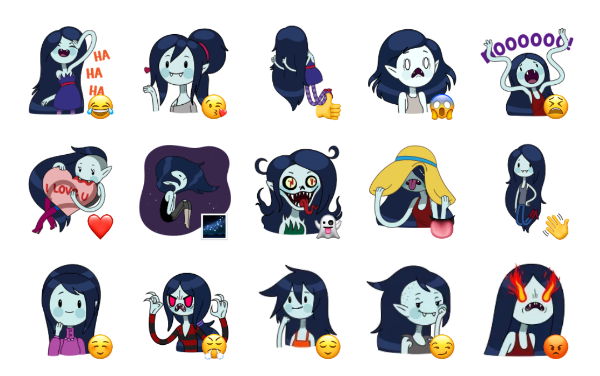 Marceline Sticker Pack