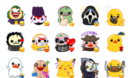Halloween Utya Sticker Pack