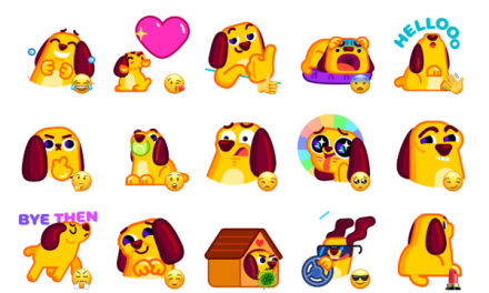 Lil' Pup Sticker Pack