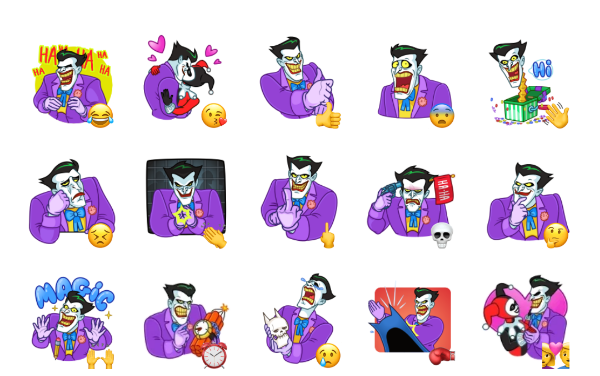 Joker Sticker Pack