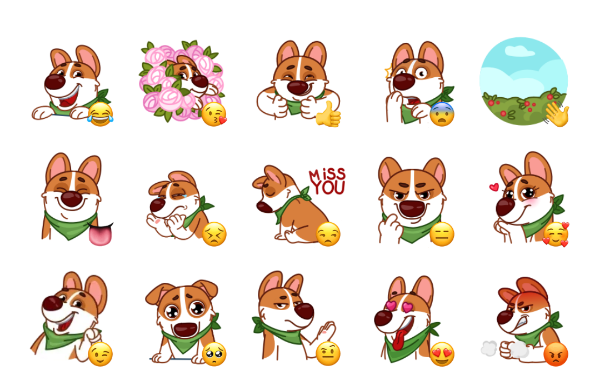 Muffin Sticker Pack
