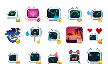 Bot Cat Sticker Pack