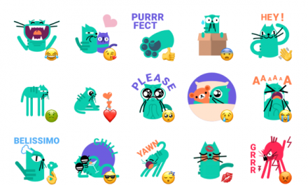 Little Catto Sticker Pack