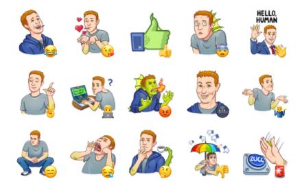 Mark Lizardberg Sticker Pack